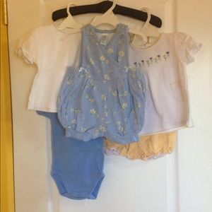 Baby Girl Size 12M Summer Bundle